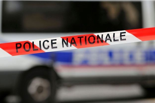 Un ruban utilisé par la Police nationale, en octobre 2016 (image d'illustration).