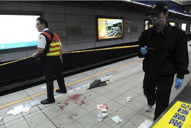 L'attaque dans le métro de Taipei a fait quatre morts et 22 blessés, dont 12 dans un état grave.
