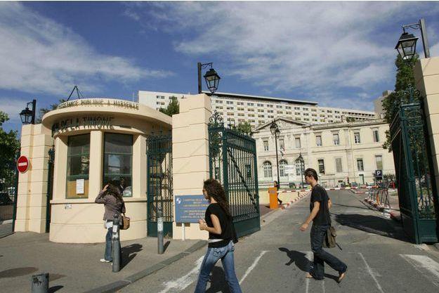 La petite victime a été conduite à l'hôpital de La Timone à Marseille.