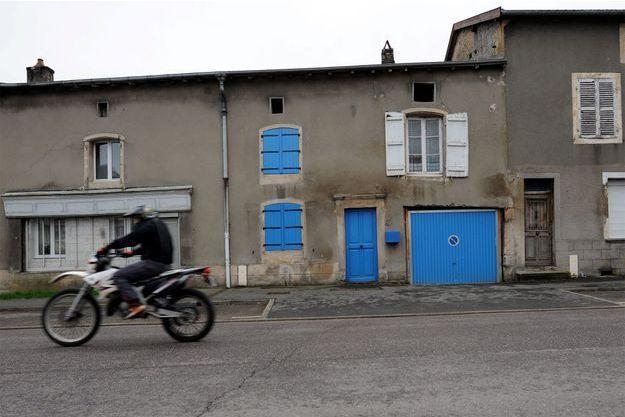 La famille vivait dans cette maison de la Meuse.