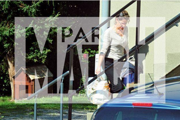 Sortie de prison le 21 septembre. Manuela Gonzalez retrouve ses proches à la Motte-d'Aveillans (Isère) dimanche 27 septembre.