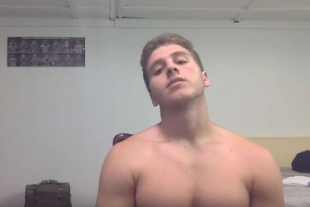 Austin Harrouff, accusé de meurtre et de tentative de meurtre.