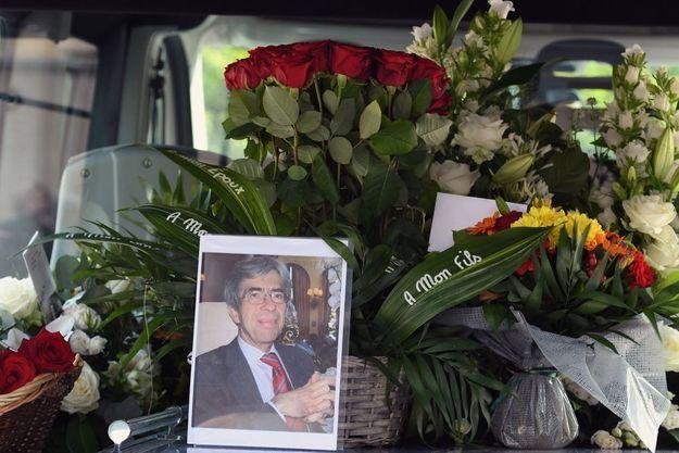 Photo prise lors des funérailles du juge Lambert.
