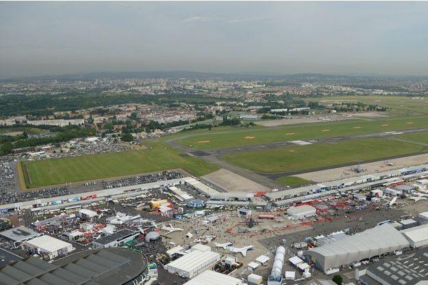 Vue aérienne de l'aéroport du Bourget (photo d'illustration).