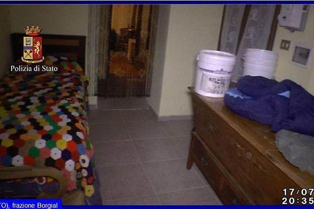 L'intérieur de la maison où Chloe Ayling a été retenue prisonnière durant 7 jours.