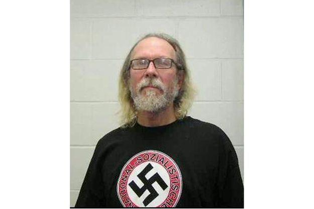 Craig Cobb, photographié le jour de son arrestation en novembre dernier.