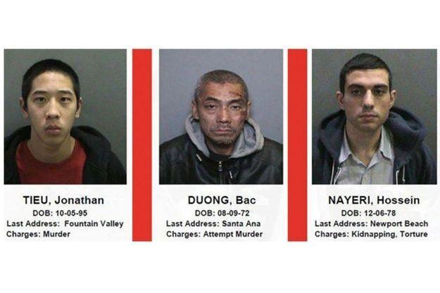 Les trois criminels ont été rattrapés