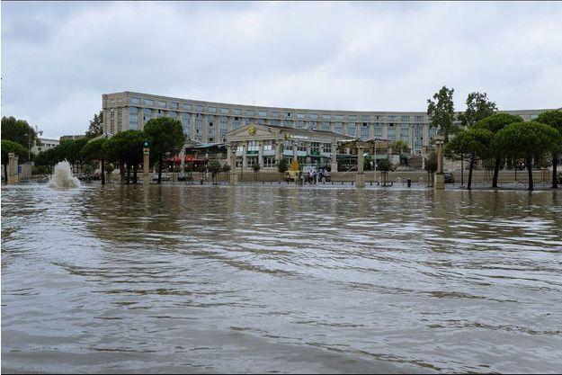 Des routes ont été coupées sur l'Hérault à la suite des fortes précipitations.