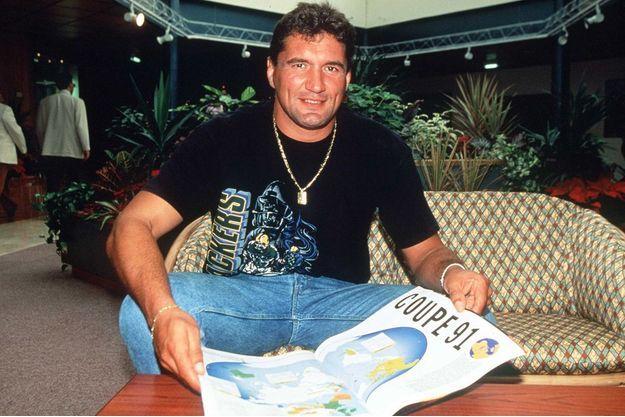 Marc Cécillon en janvier 92.