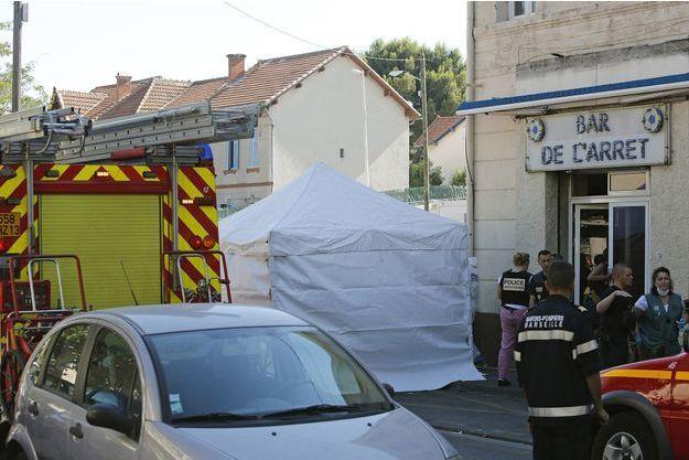 En juillet 2014, une fusillade avait eu lieu dans les quartiers nord de Marseille (image d'illustration).