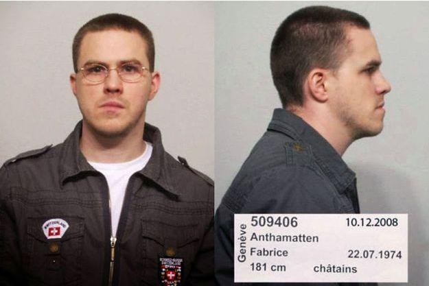 Fabrice Anthamatten a été arrêté dimanche.