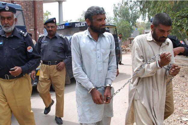 Muhammad Arif et Muhammad Farman ont été condamnés à 11 ans et demi de prison.