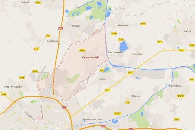 La prise d'otage a lieu à Vendin-le-Vieil
