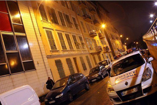 Le drame s'est produit dans cet immeuble de Nice.