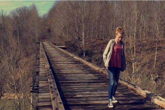 Abigail Williams est photographiée sur Snapchat par son amie Liberty German.