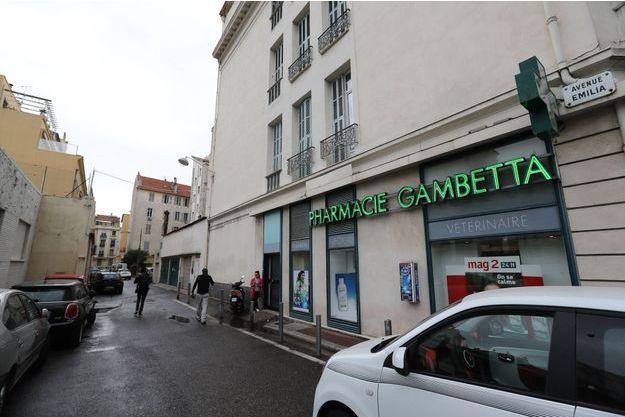 En octobre, Jacqueline Veyrac a été enlevée en plein jour dans cette rue de Nice.