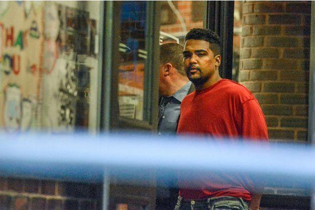 Le chauffard de Times Square après sont arrestation jeudi.