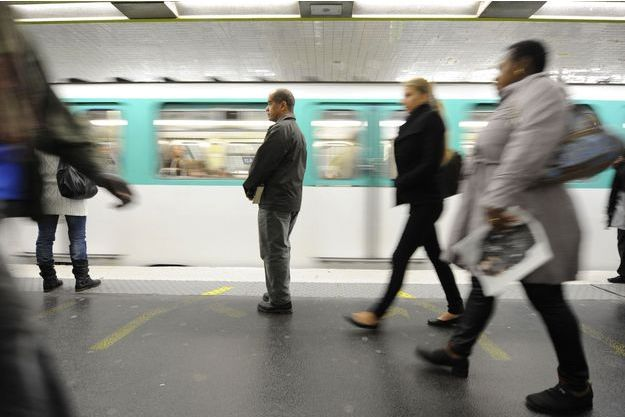 Dans le métro de Paris, en 2010 (photo d'illustration).