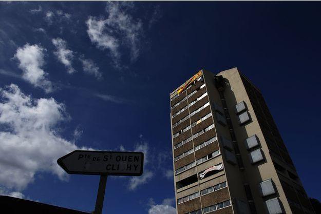 Un immeuble à Saint-Ouen.