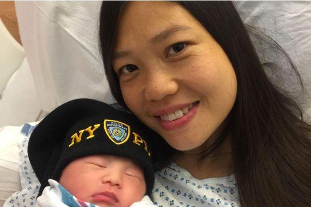 La veuve du policier tué a donné naissance mardi à leur enfant.
