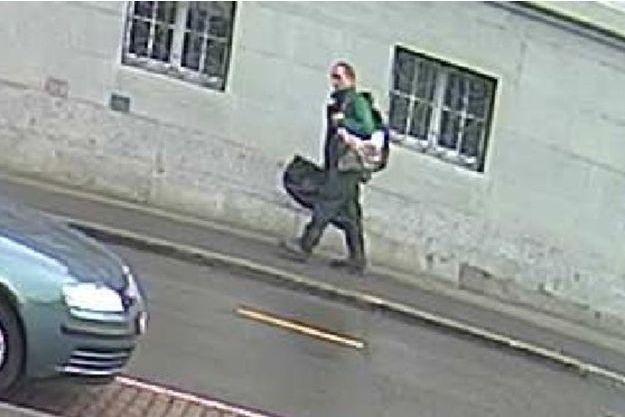 Une image du suspect à Schaffhouse, diffusée par la police.