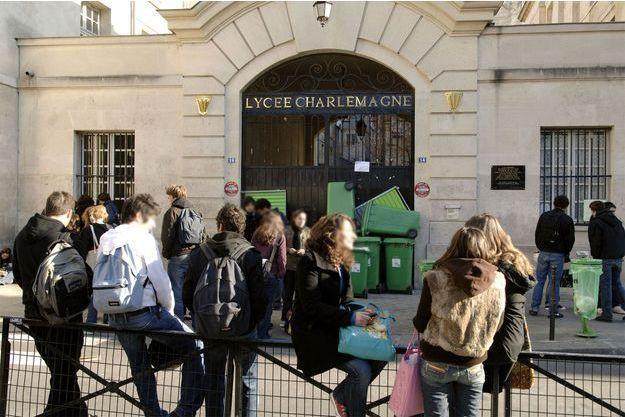 Le lycée Charlemagne à Paris