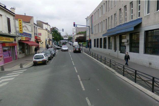 La rue Charles-Schmidt, où a eu lieu la fusillade.
