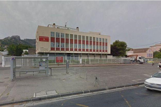 Le lycée Camille-Jullian de Marseille, où a eu lieu le drame
