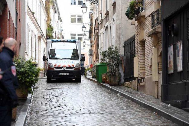 Les faits se sont produits dans le XXè arrondissement de Paris.