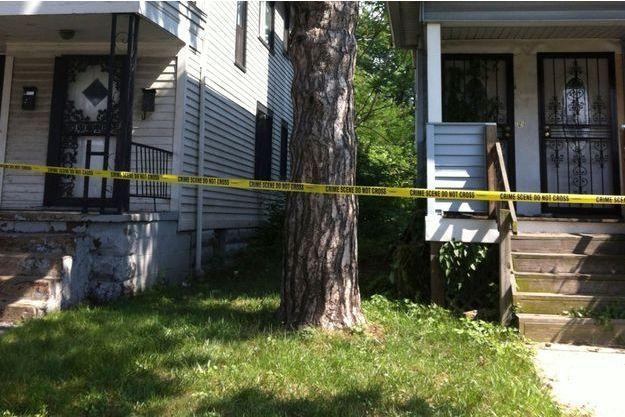 Une des maisons dans lesquelles les corps ont été retrouvées à Cleveland.