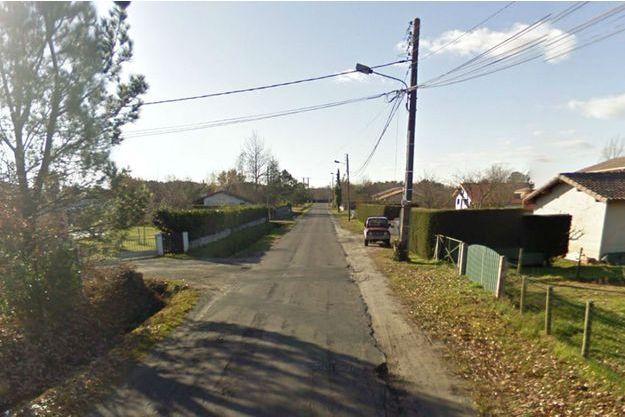 Le drame a eu lieu dans ce quartier de Biscarrosse.