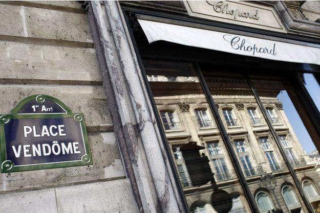 La boutique Chopard située place Vendôme a été braquée ce mardi.