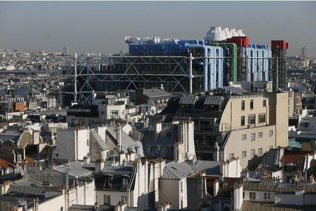 L'agression s'est déroulée dans le quartier de Beaubourg, à Paris.