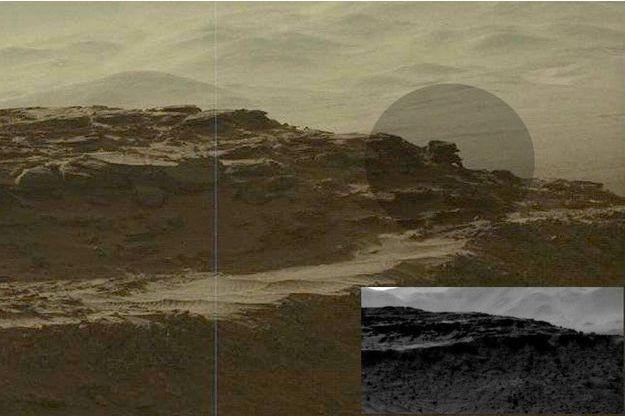 Une nouvelle anomalie sur Mars
