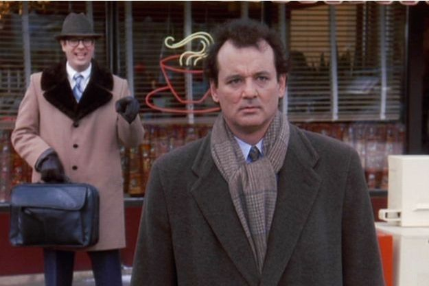 "Bill Murray dans ""Un jour sans fin"" de Harold Ramis."