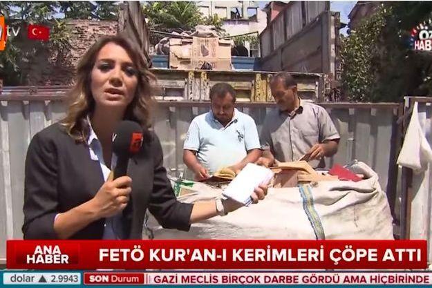 Ozlem Aktay en plein direct