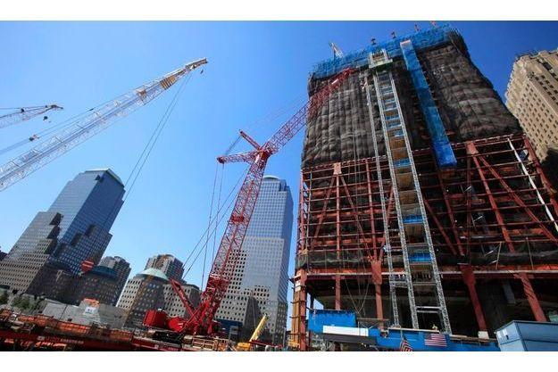 Le site du World Trade Center tel qu'il est aujourd'hui.
