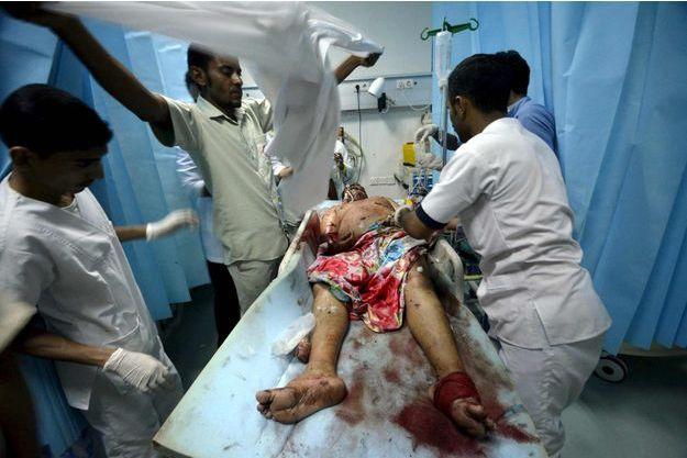 Un blessé dans un raid de l'Arabie saoudite selon Reuters, dans la ville portuaire de Houdieda, jeudi.