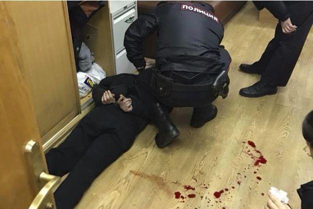 L'agresseur de la journaliste Tatiana Felguengauer a été arrêté dans la foulée, à Moscou.