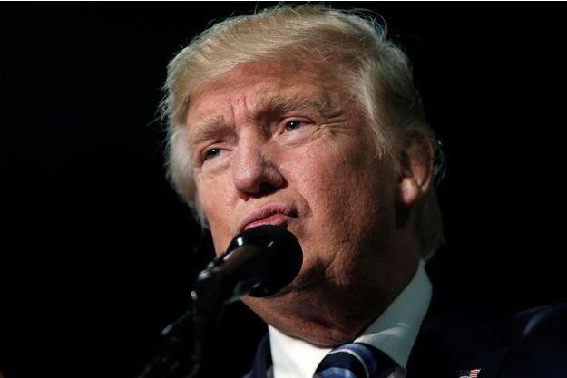 Le candidat républicain à l'élection présidentielle américaine Donald Trump.