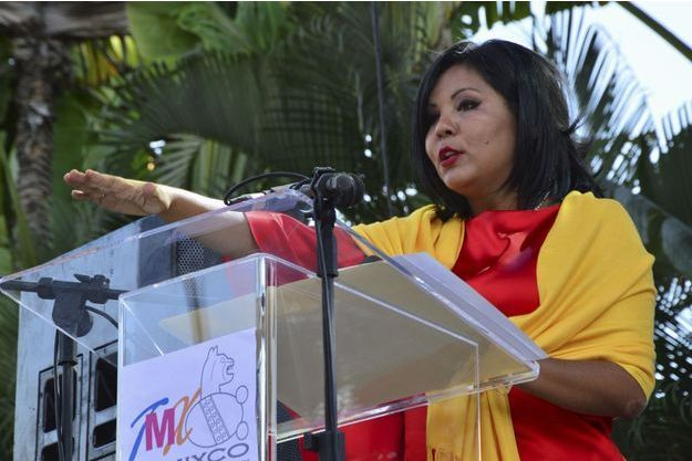 Gisela Mota, la maire de Temixco, a été tuée samedi devant chez elle. Elle avait 33 ans.
