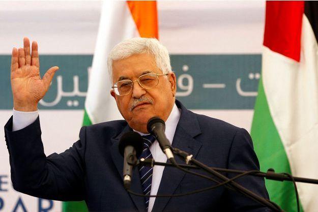 Mahmoud Abbas le 8 novembre dernier.