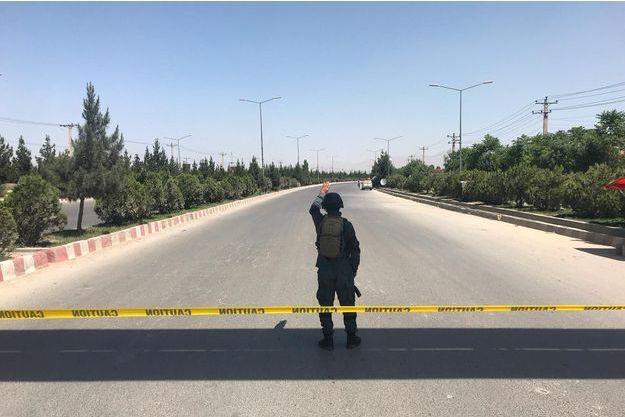 Une attaque est menée contre le ministère de l'Intérieur à Kaboul.