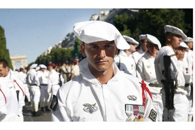 Mardi 14 juillet, Damien R. et ses camarades du 27e BCA étaient à l'honneure sur les Champs-Elysées.