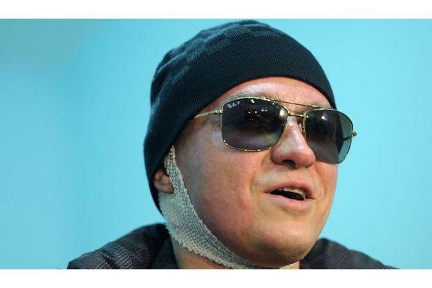 Sergueï Filin à sa sortie de l'hôpital de Moscou le 4 février.