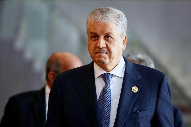 Abdelmalek Sellal, l'ancien Premier ministre algérien.