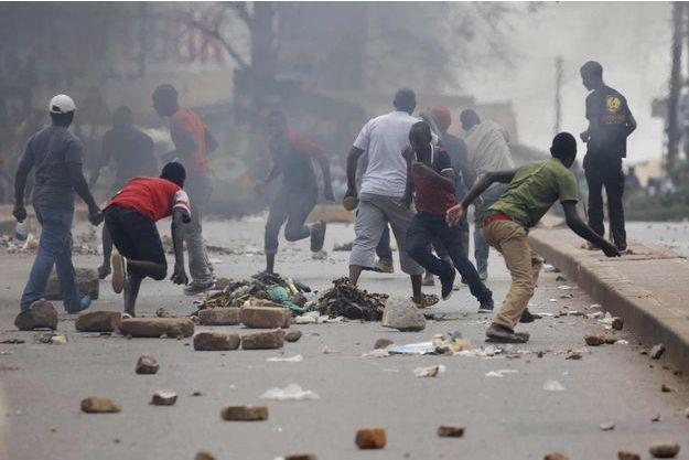 Heurts à Kampala ce vendredi.