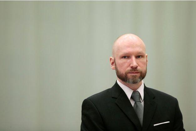 Anders Behring Breivik, en janvier 2017.