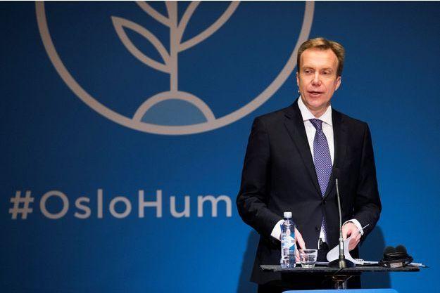 Le ministre norvégien des Affaires étrangères, Børge Brende.