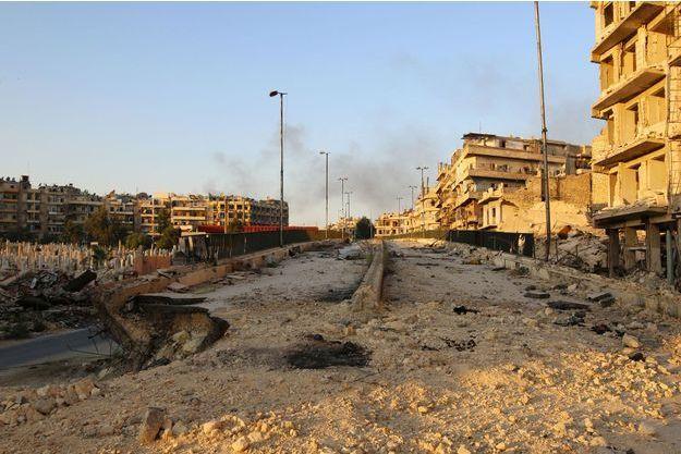 Les ruines d'Alep